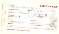 Barbara Ann's Boarding Pass